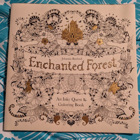 Other Johanna Basford Coloring Book Enchanted Forest Poshmark